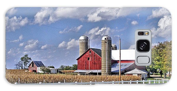 Elkhart County Farm Galaxy Case