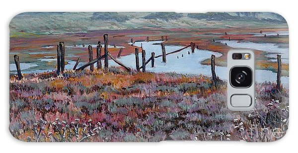 Elkhorn Slough Morning Galaxy Case