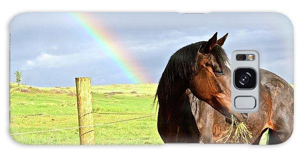 Ella And The Rainbows Galaxy Case