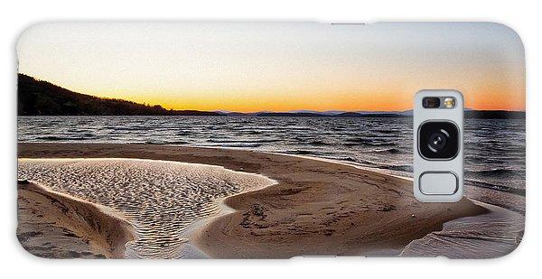Ellacoya Beach Galaxy Case by Robert Clifford