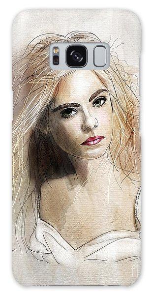 Beautiful Girl Galaxy Case - Ellie by Gary Bodnar