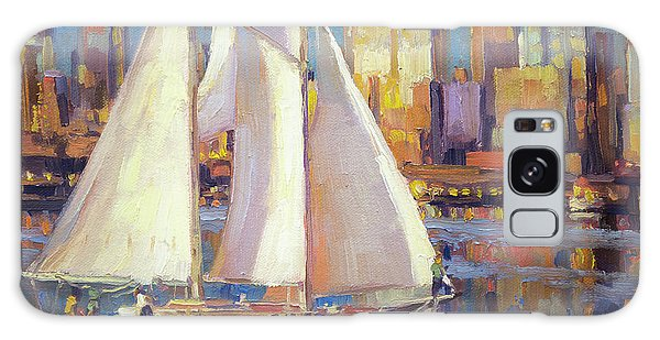 Galaxy Case featuring the painting Elliot Bay by Steve Henderson