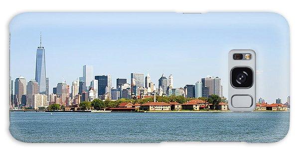 Ellis Island New York City Galaxy Case