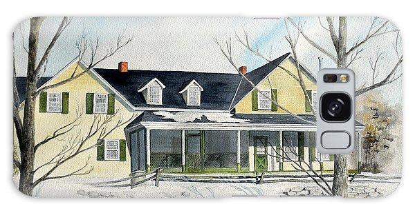Elmridge Farm House Galaxy Case by Jackie Mueller-Jones