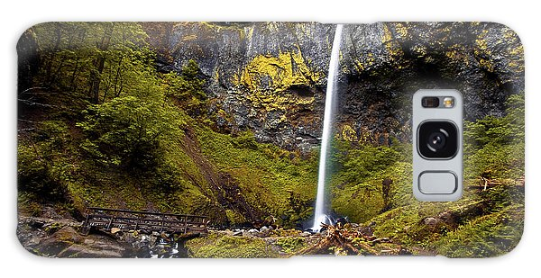 Elowah Falls Oregon Galaxy Case