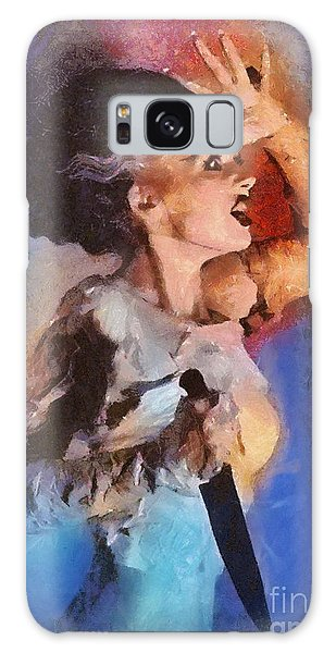 Dracula Galaxy Case - Elsa Lanchester, Bride Of Frankenstein by Mary Bassett