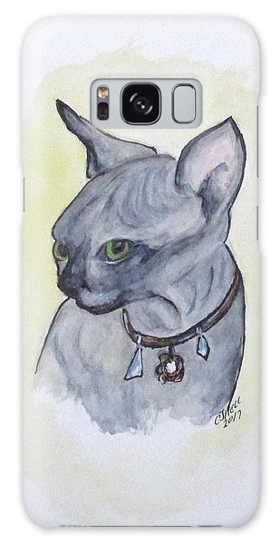 Else The Sphynx Kitten Galaxy Case