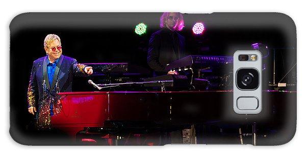 Elton - Enjoying The Show Galaxy Case