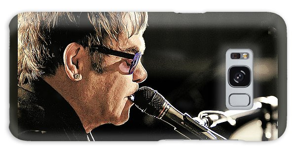 Elton John At The Mic Galaxy Case