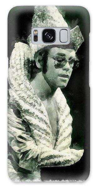 Elton John By John Springfield Galaxy Case
