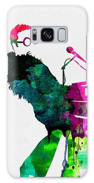 Musicians Galaxy Case - Elton Watercolor by Naxart Studio