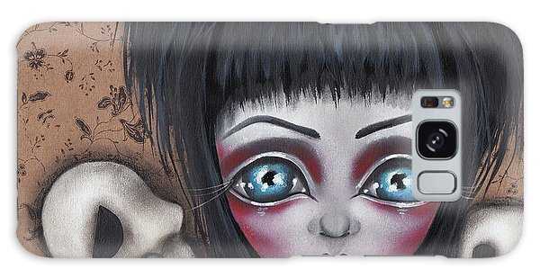 Elvira Galaxy Case by Abril Andrade Griffith
