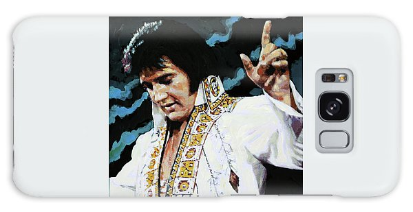 Elvis - How Great Thou Art Galaxy Case by John Lautermilch