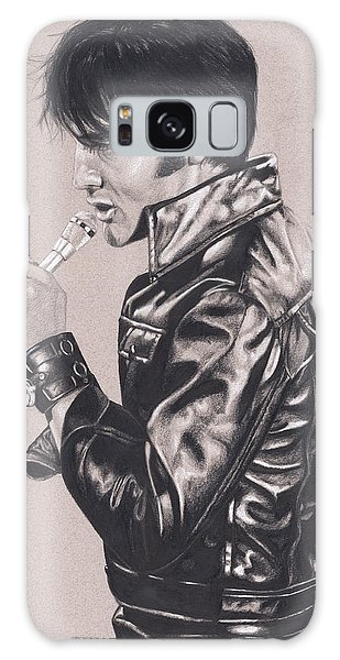 Elvis In Charcoal #177, No Title Galaxy Case