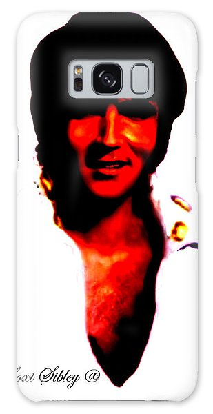 Elvis By Loxi Sibley Galaxy Case