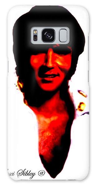 Elvis By Loxi Sibley Galaxy Case by Loxi Sibley