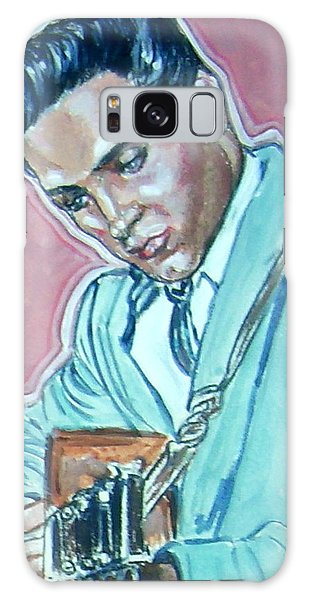 Elvis Presley Galaxy Case by Bryan Bustard
