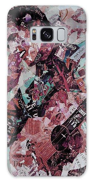 Elvis Presley Collage Art 01 Galaxy Case by Gull G