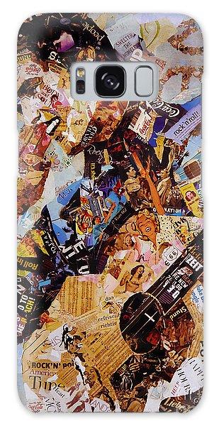 Elvis Presley Collage Art  Galaxy Case by Gull G
