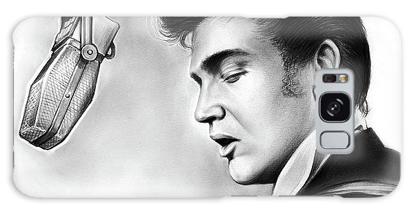 Rock And Roll Galaxy S8 Case - Elvis Presley by Greg Joens