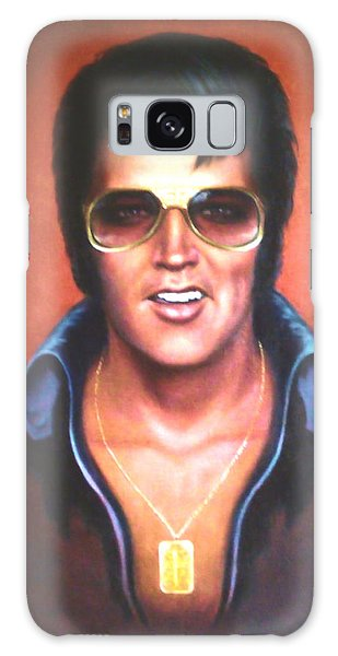Elvis Presley Galaxy Case by Loxi Sibley