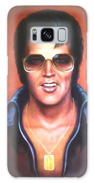 Elvis Presley Galaxy Case by Loxi Sibley