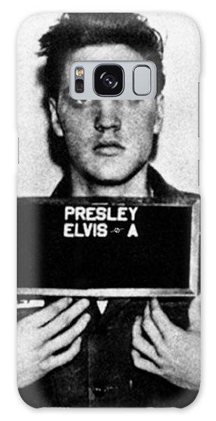 Elvis Presley Mug Shot Vertical 1 Galaxy Case