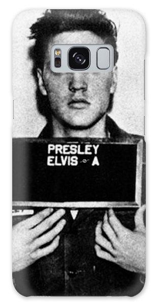 Elvis Presley Galaxy Case - Elvis Presley Mug Shot Vertical 1 by Tony Rubino