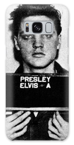 Elvis Presley Mug Shot Vertical 1 Wide 16 By 20 Galaxy Case