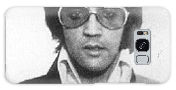 Elvis Presley Galaxy Case - Elvis Presley Mug Shot Vertical by Tony Rubino