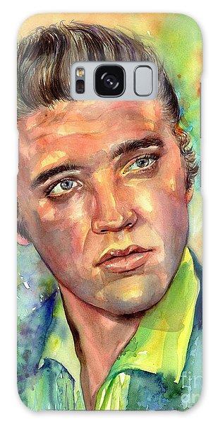 Elvis Presley Galaxy Case - Elvis Presley Watercolor by Suzann's Art