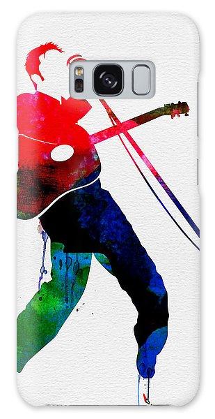 Elvis Presley Galaxy Case - Elvis Watercolor by Naxart Studio