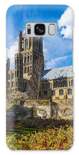 Ely Cathedral And Garden Galaxy Case