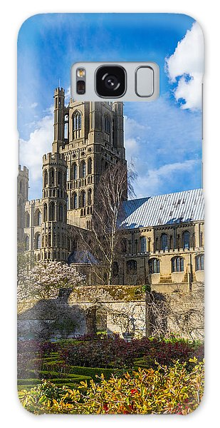 Galaxy Case featuring the photograph Ely Cathedral And Garden by James Billings