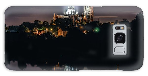 Ely Cathedral By Night Galaxy Case