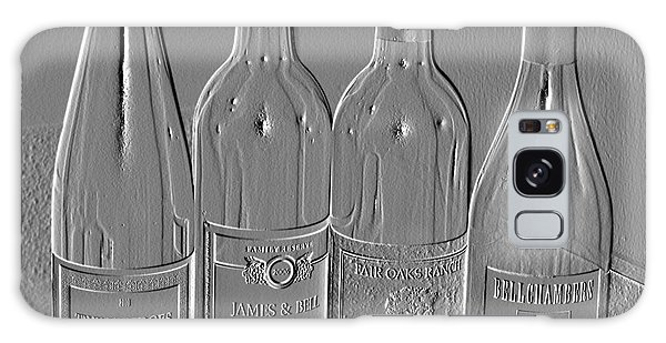 Embossed Wine Bottles Galaxy Case