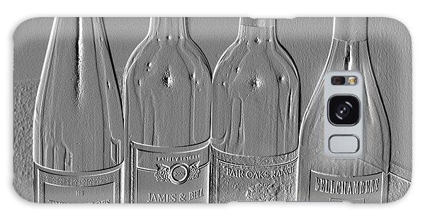 Embossed Wine Bottles Galaxy Case