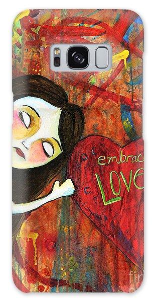 Embrace Love Galaxy Case
