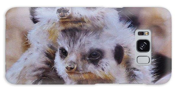 Meerkat Galaxy Case - Embraced by Cherise Foster