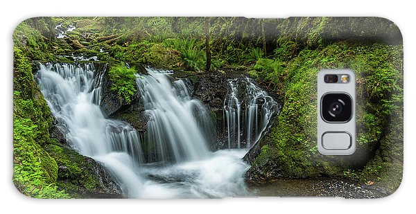 Emeral Falls Waterscape Art By Kaylyn Franks Galaxy Case
