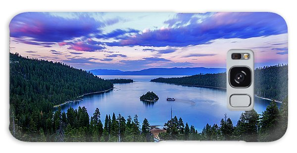 Emerald Bay And Ms Dixie At Sunset By Brad Scott Galaxy Case