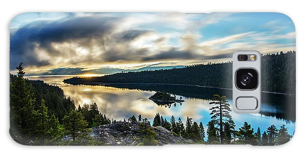 Emerald Bay Sunrise Lake Tahoe Galaxy Case