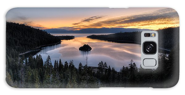 Emerald Bay Sunrise Galaxy Case