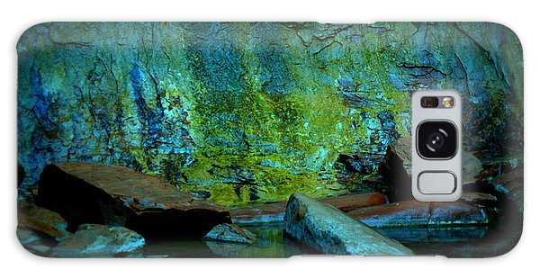 Emerald Cave Galaxy Case by Nature Macabre Photography