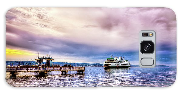 Emerald City Ferry Galaxy Case by Spencer McDonald
