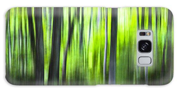 Green Forest - North Carolina Galaxy Case