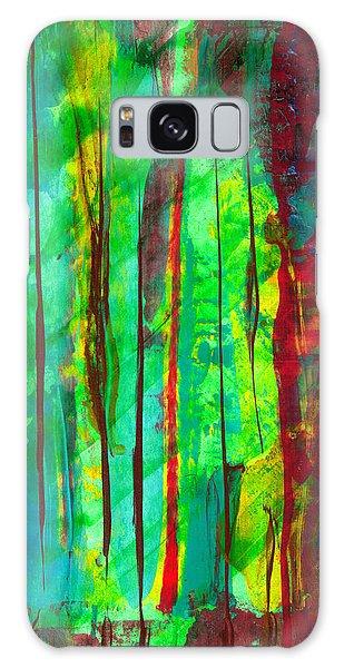 Emerald Forest Galaxy Case