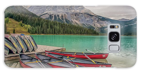 Galaxy Case featuring the photograph Emerald Lake 2009 01 by Jim Dollar