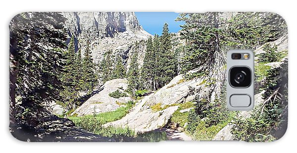 Emerald Lake Trail - Rocky Mountain National Park Galaxy Case