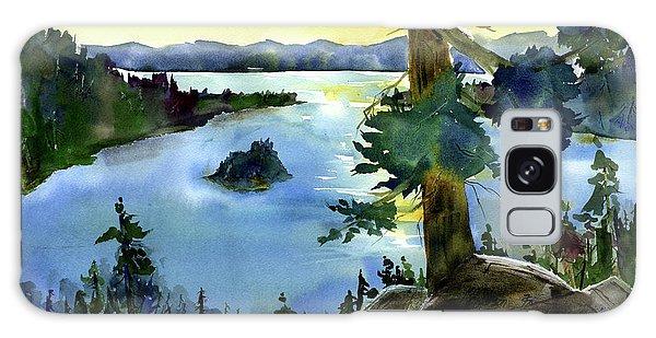 Emerald Morn, Lake Tahoe Galaxy Case